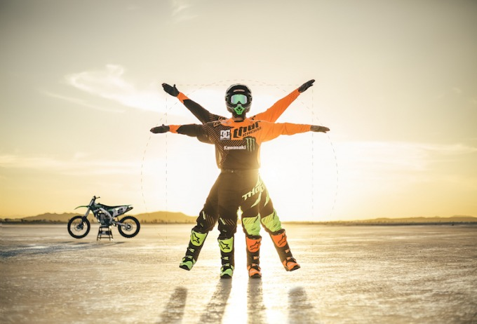 Jeremy McGrath Vitruvian Man