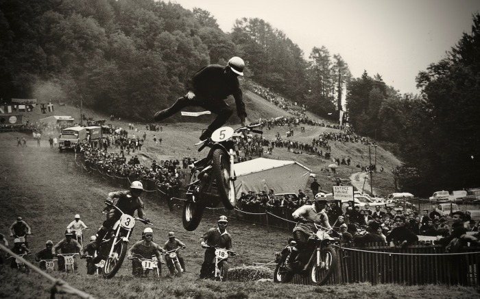 Kenneth Olausson's photo of Gérard Lédormeur losing his steed in 1967