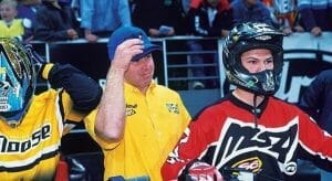 Chad Reed: 1999 Australian Supercross at Newcastle. Courtesy: Andy Wigan