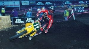 1999 Chad Reed races in Newcastle. Photo courtesy, Andy Wigan