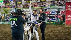 Chad Reed: Tampa Supercross 2018 Opening Ceremonies
