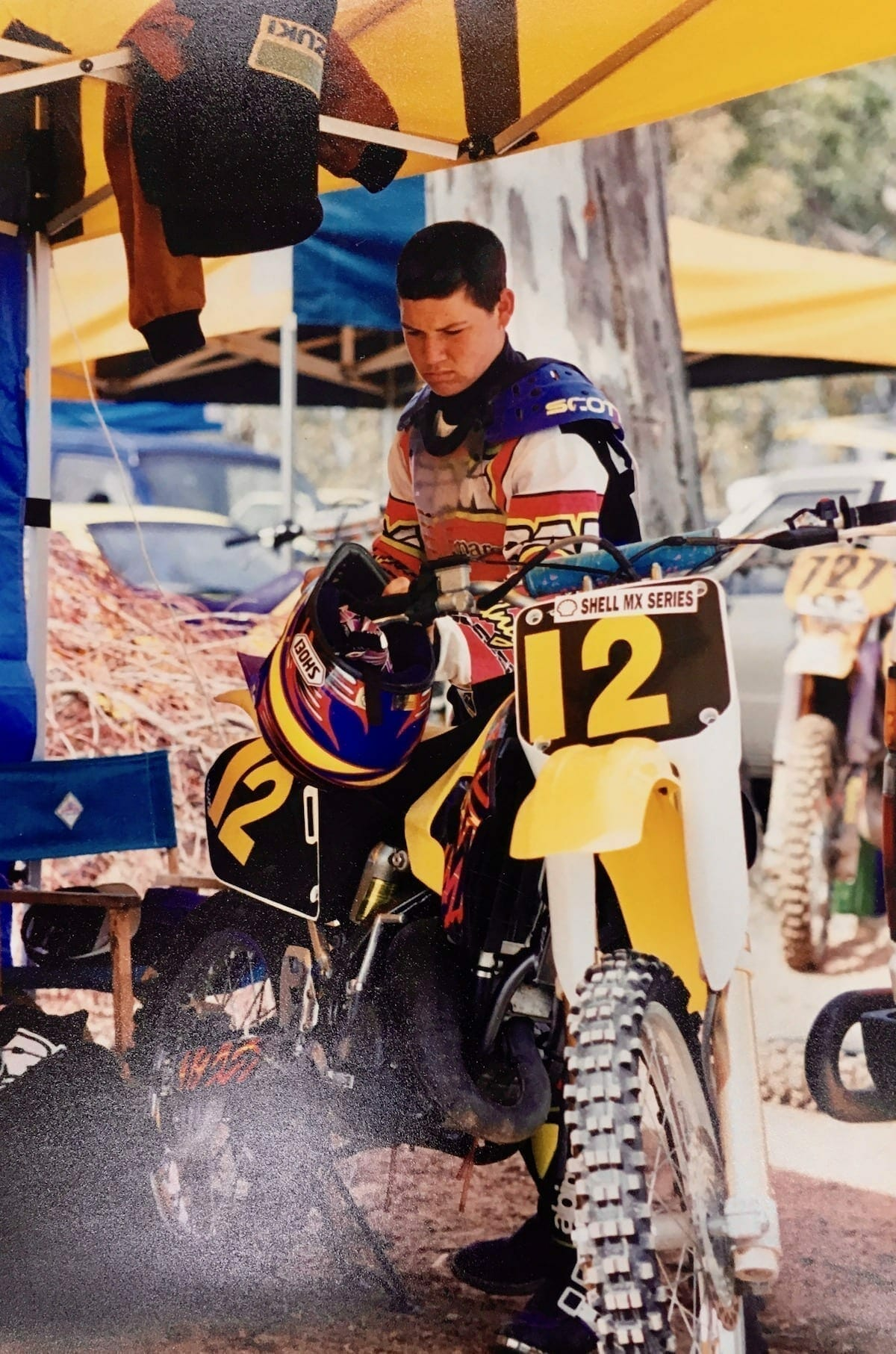 Chad Reed: Australian Jr. Motocross, circa 1996