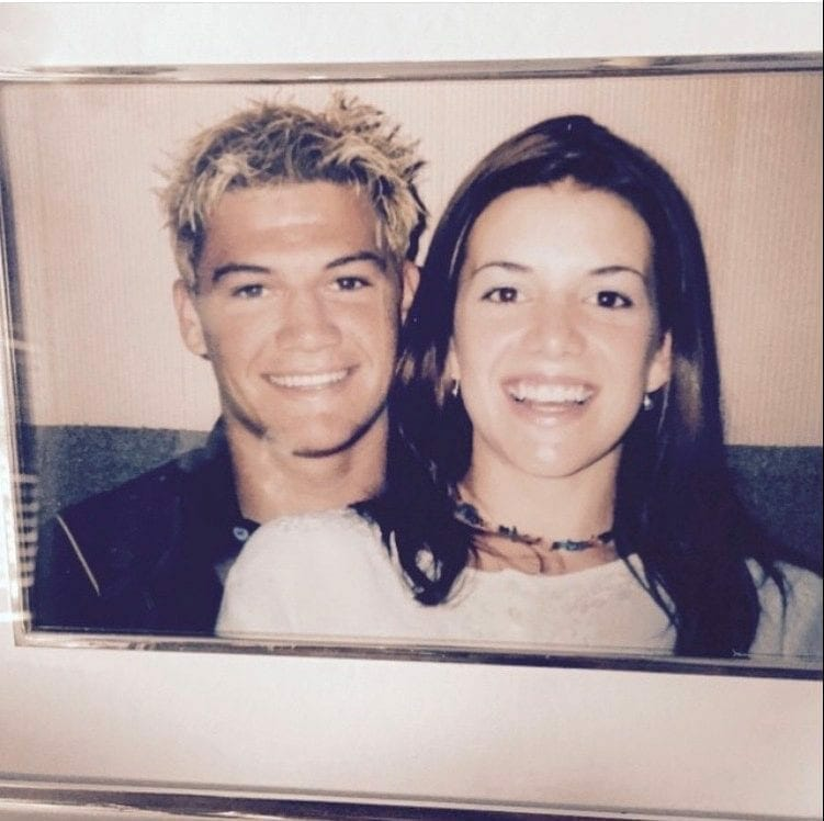 Chad Reed and Ellie Brady: 1998