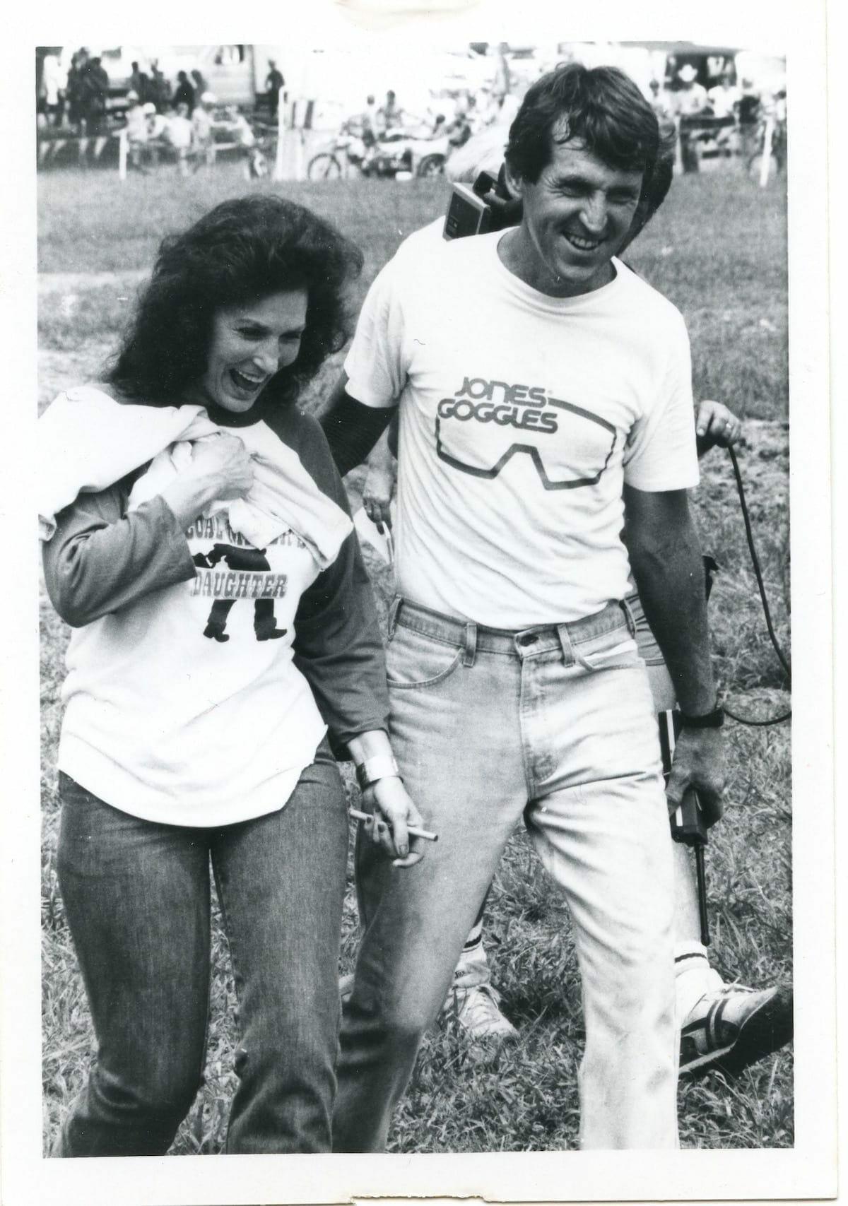 Loretta Lynn and Big Dave Coombs