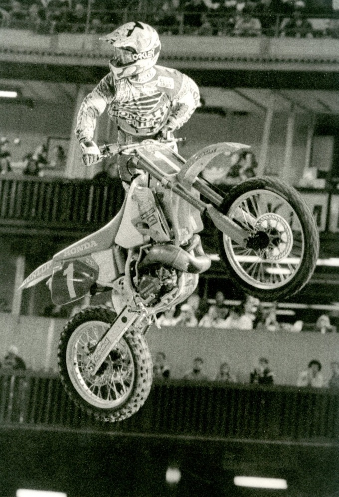 1994 Anaheim Supercross. Photo by Davey Coombs