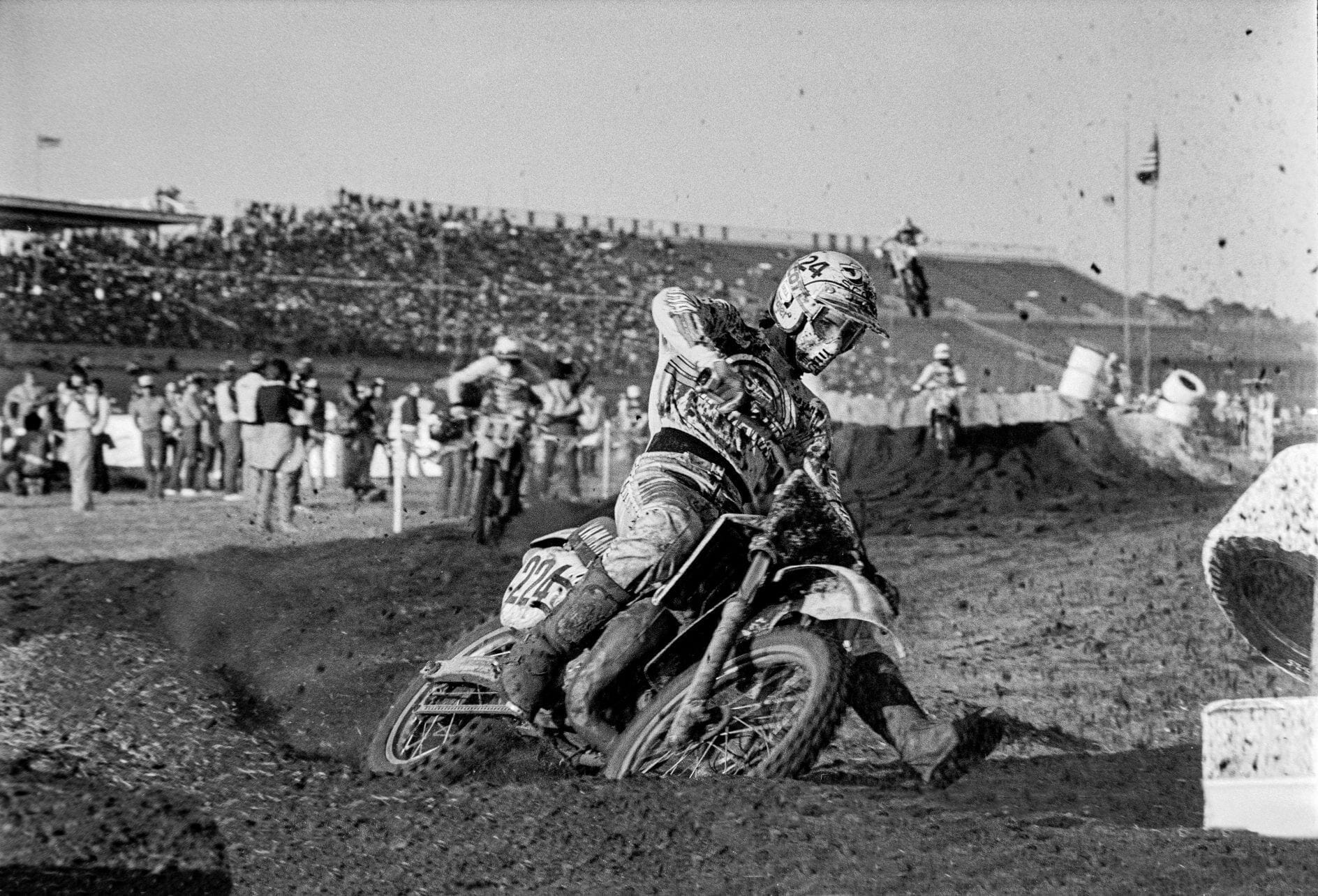 Daytona Supercross 1983 – Dave Dewhurst Photo