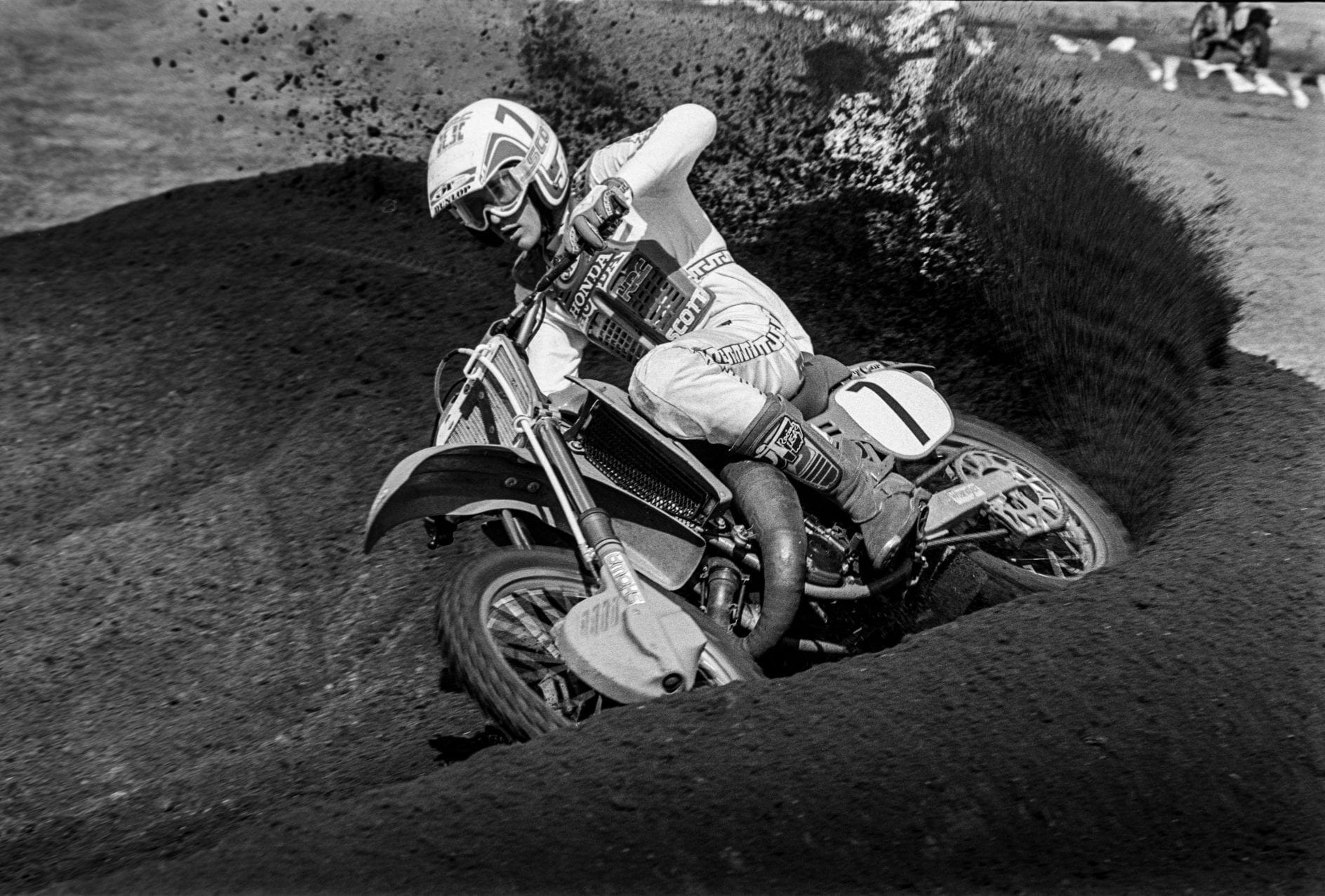 Daytona Supercross 1984 – Dave Dewhurst Photo
