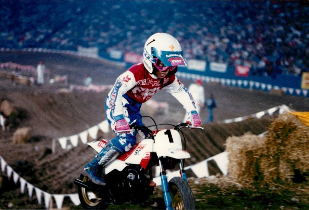 Nick Wey at the Pontiac Silverdome 1989