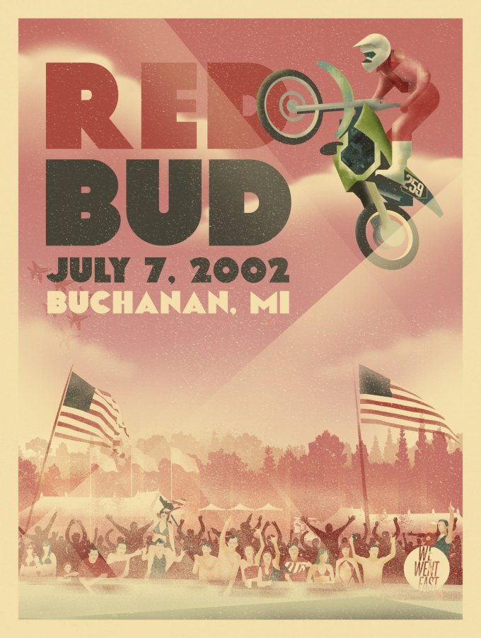 Red Bud Poster 2002