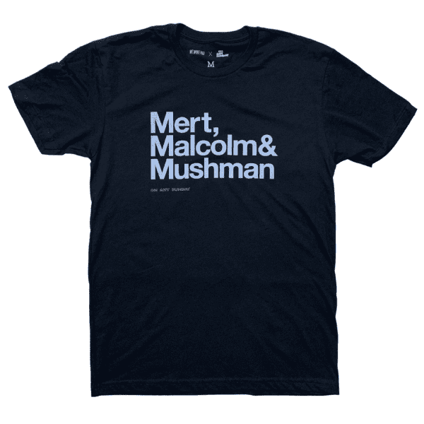 Mert, Maclolm & McQueen - On Any Sunday Shirt - Black
