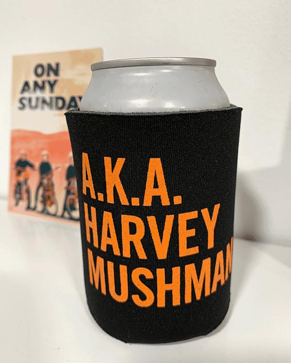 Can in Koozie - AKA Harvey - On Any Sunday