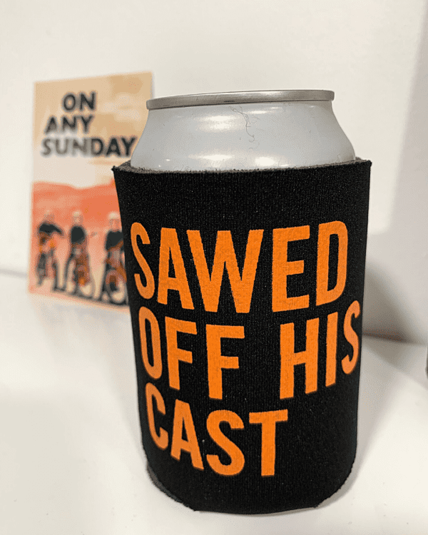 Can in Koozie - Sawed Off - On Any Sunday