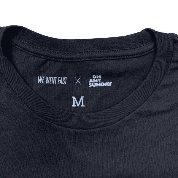 Mert, Maclolm & McQueen - On Any Sunday Shirt - Black - Tag