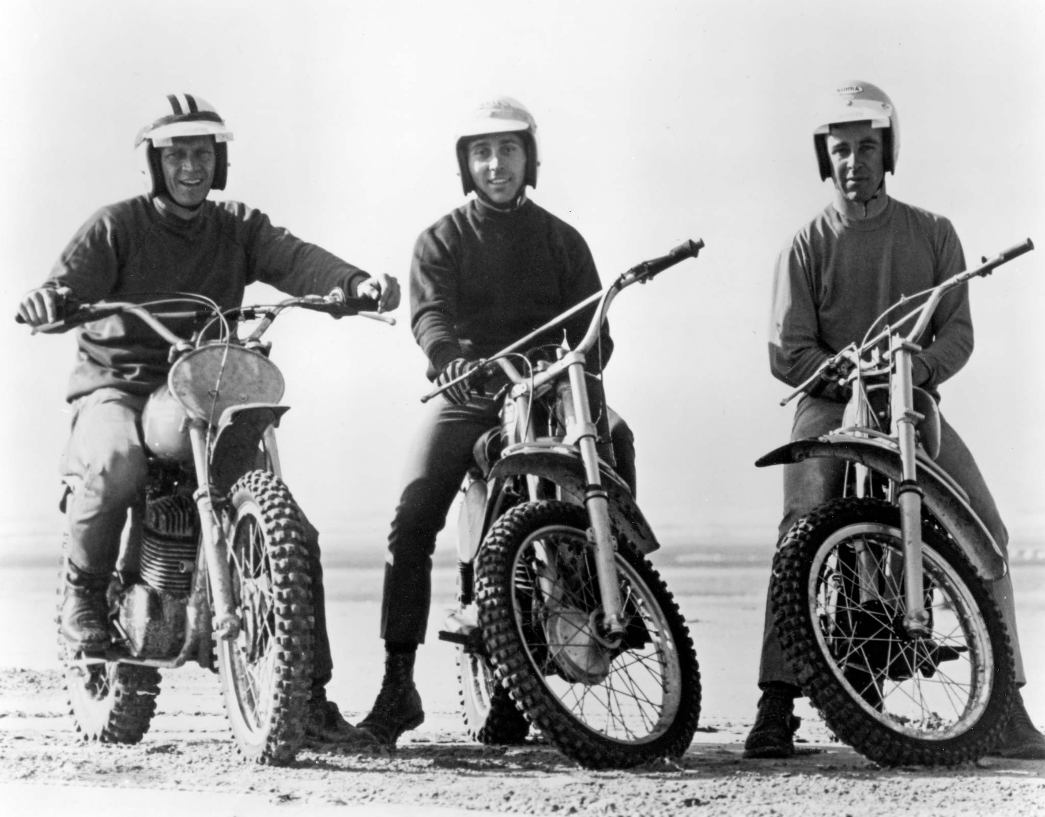On Any Sunday: Mert, Malcolm and McQueen on the sand dunes