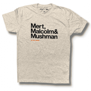 Mert, Maclolm & McQueen - On Any Sunday Shirt - Oatmeal