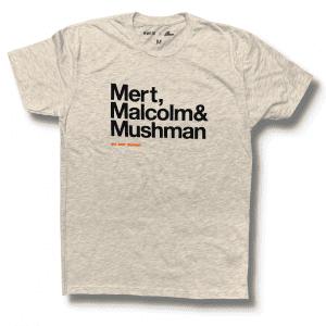 Mert, Maclolm & McQueen - On Any Sunday Shirt - Oatmeal