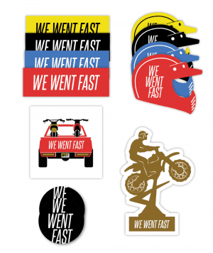 Ultimate We Went Fast Sticker Pack
