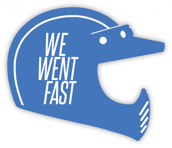 Sticker, blue helmet